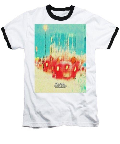 Baseball T-Shirt featuring the photograph Austin Traffic by Barbara Tristan