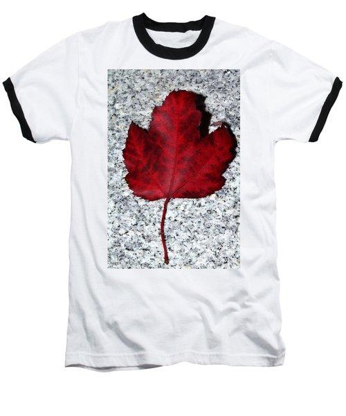 Autum Maple Leaf 1 Baseball T-Shirt