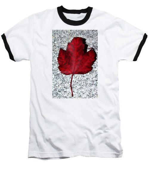 Autum Maple Leaf 1 Baseball T-Shirt