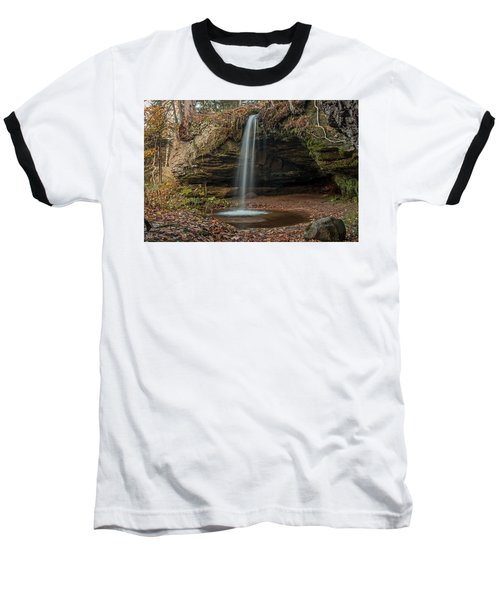 Autumn At Scott Falls Baseball T-Shirt