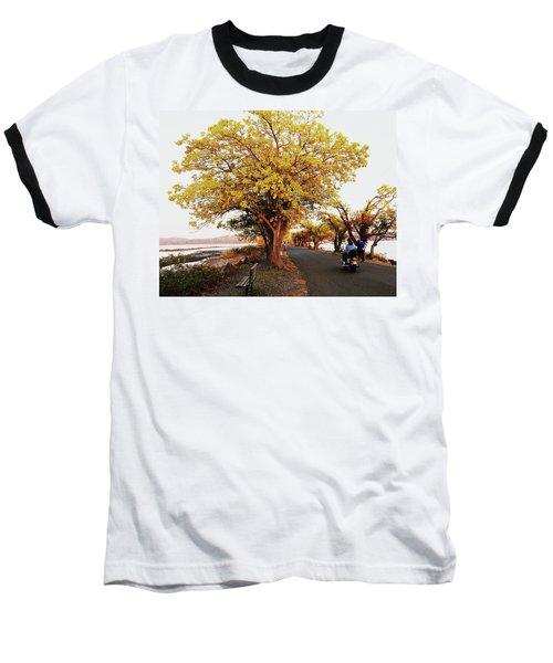 Autumn Causeway Baseball T-Shirt