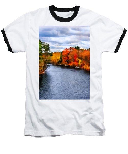 Autumn Channel Baseball T-Shirt
