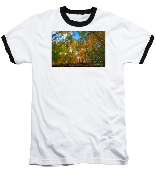 Autumn Colors  Baseball T-Shirt by Michael Ver Sprill