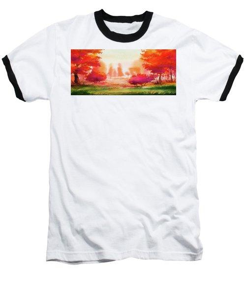 Autumn Delight Baseball T-Shirt