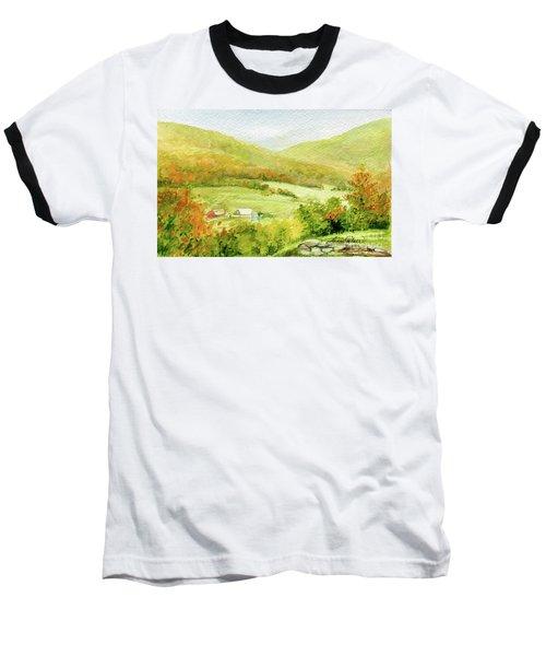 Autumn Farm In Vermont Baseball T-Shirt