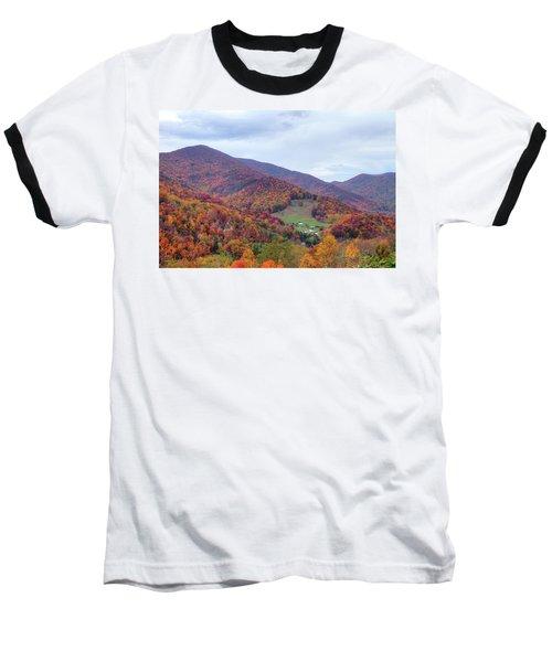 Autumn Farm Baseball T-Shirt
