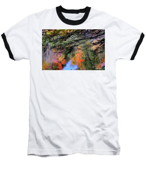 Autumn Glory Baseball T-Shirt