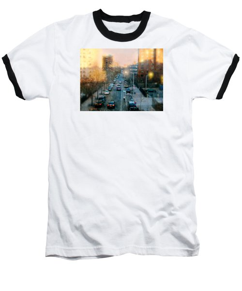 Autumn In Harlem Baseball T-Shirt by Diana Angstadt