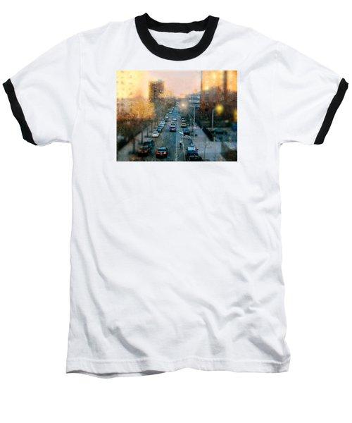 Autumn In Harlem Baseball T-Shirt