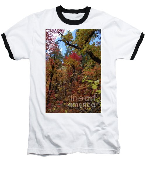 Autumn In Sedona Baseball T-Shirt