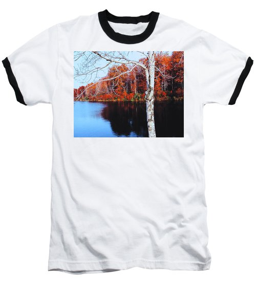 Autumn Lake Baseball T-Shirt