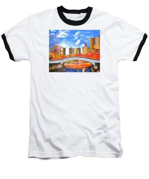 Autumn Oasis Baseball T-Shirt