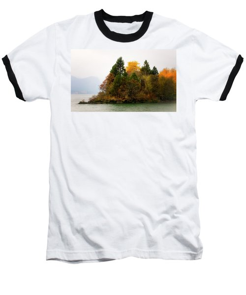 Baseball T-Shirt featuring the photograph Autumn On The Columbia by Albert Seger
