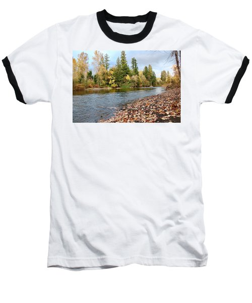 Autumn On The Molalla Baseball T-Shirt
