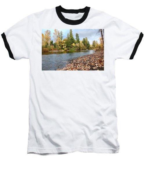Autumn On The Molalla Baseball T-Shirt