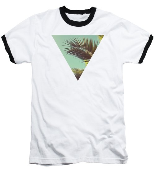 Autumn Palms Baseball T-Shirt