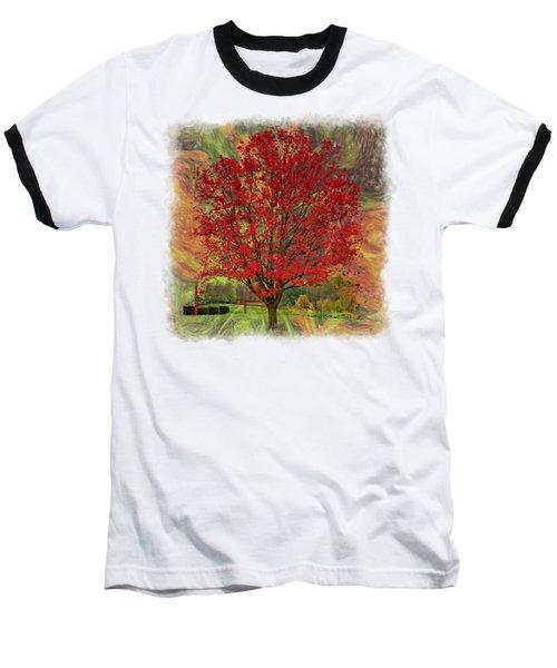 Autumn Scenic 2 Baseball T-Shirt