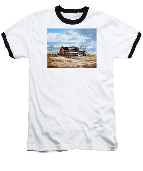 Autumn Slips Away Baseball T-Shirt