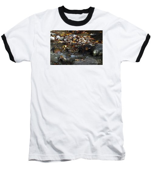 Baseball T-Shirt featuring the drawing Autumn Soup by Diane E Berry
