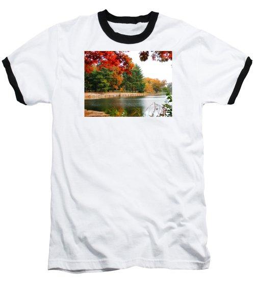 Autumn View Baseball T-Shirt