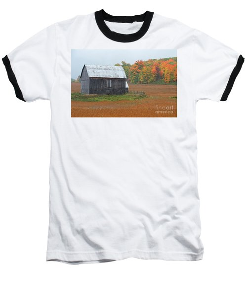 Baseball T-Shirt featuring the photograph Autumnal.. by Nina Stavlund