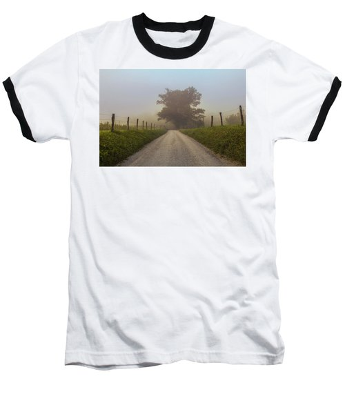 Baseball T-Shirt featuring the photograph Awaiting The Horizon by Jessica Brawley