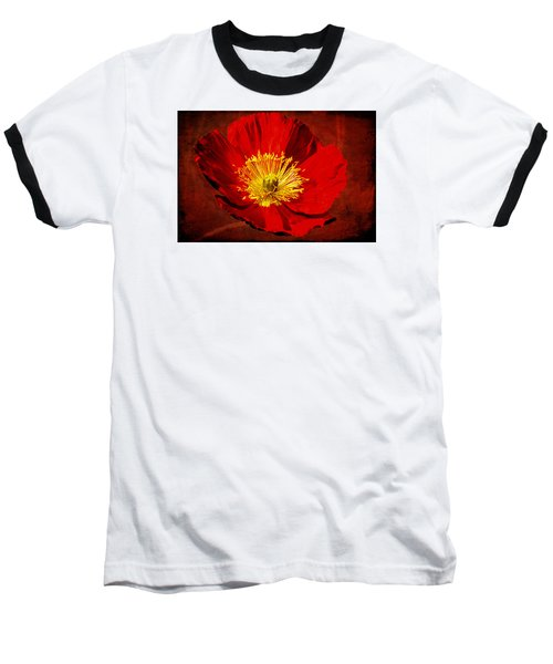 Baseball T-Shirt featuring the photograph Awake To Red by Phyllis Denton