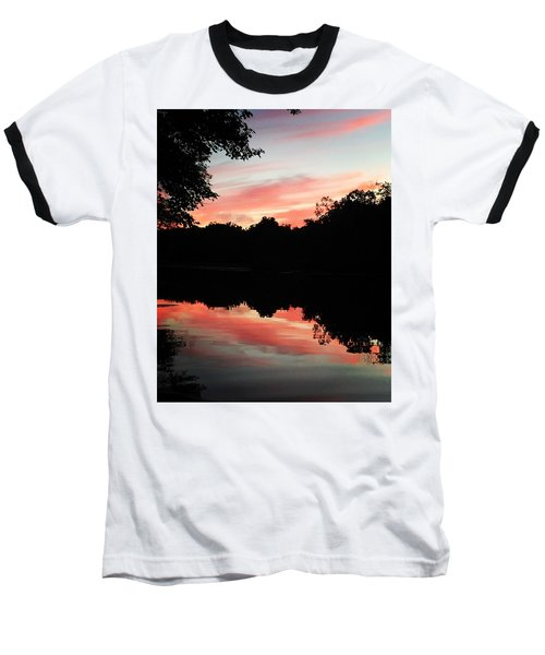 Awesome Sunset Baseball T-Shirt