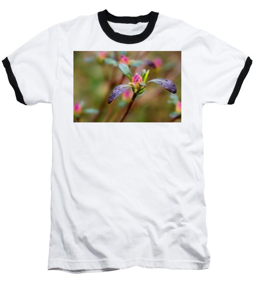 Azalea Bud Energy Baseball T-Shirt