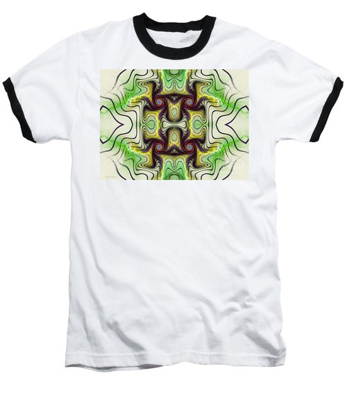 Aztec Art Design Baseball T-Shirt