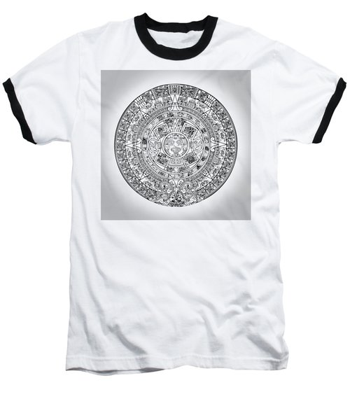 Aztec Sun Baseball T-Shirt