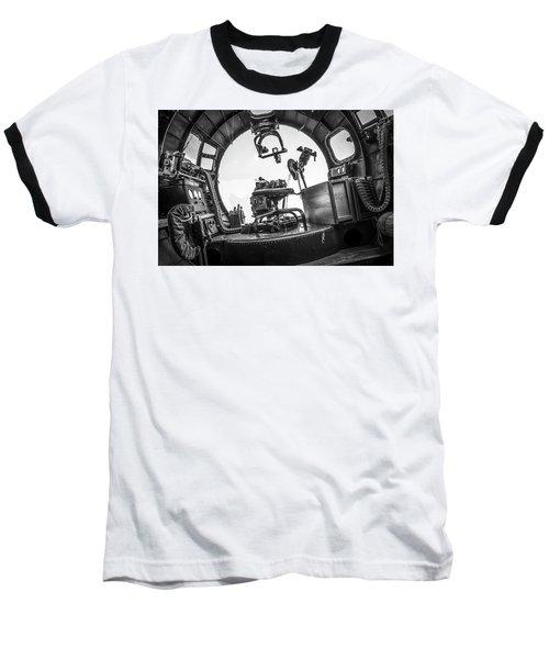 B-17 Bombardier Office Baseball T-Shirt