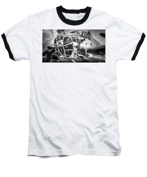 B-25 - Bw Series 2 Baseball T-Shirt