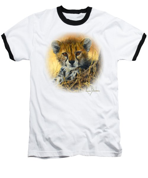 Baby Cheetah  Baseball T-Shirt