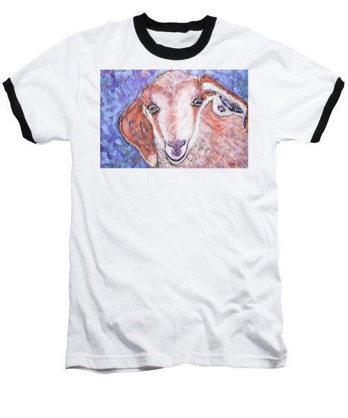 Baby Goat Baseball T-Shirt
