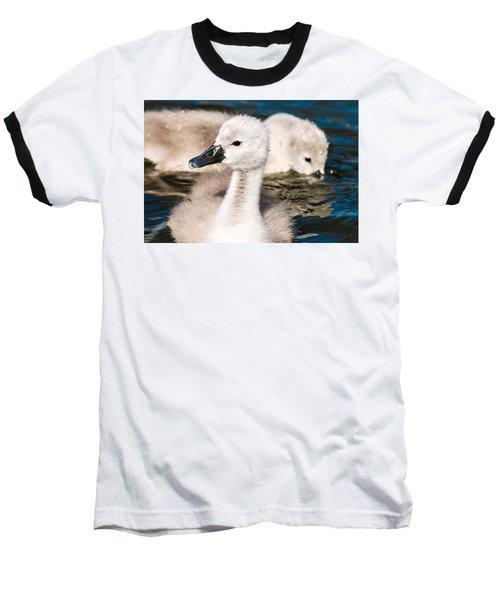 Baby Swan Close Up Baseball T-Shirt
