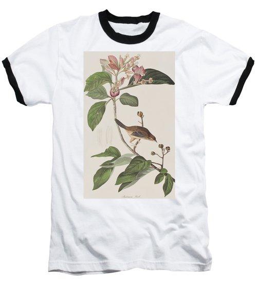 Bachmans Sparrow Baseball T-Shirt by John James Audubon