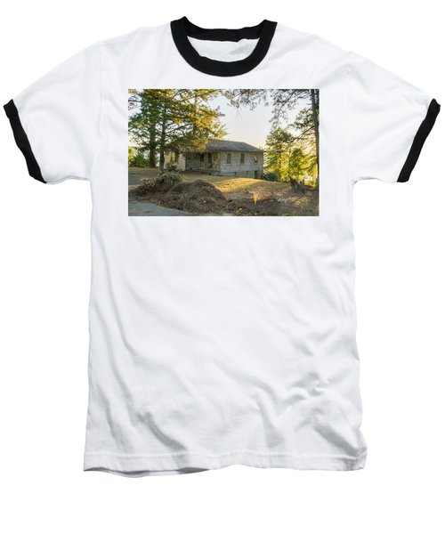 Back Porch Sunset Baseball T-Shirt by Ricky Dean