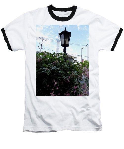 Back Street In Tokyo Baseball T-Shirt