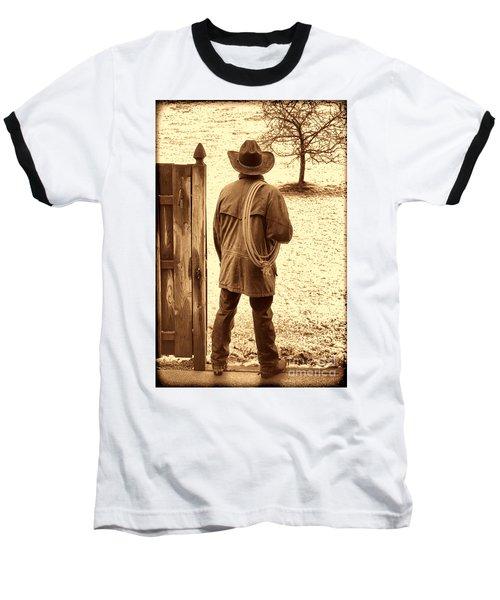 Back To Work Baseball T-Shirt