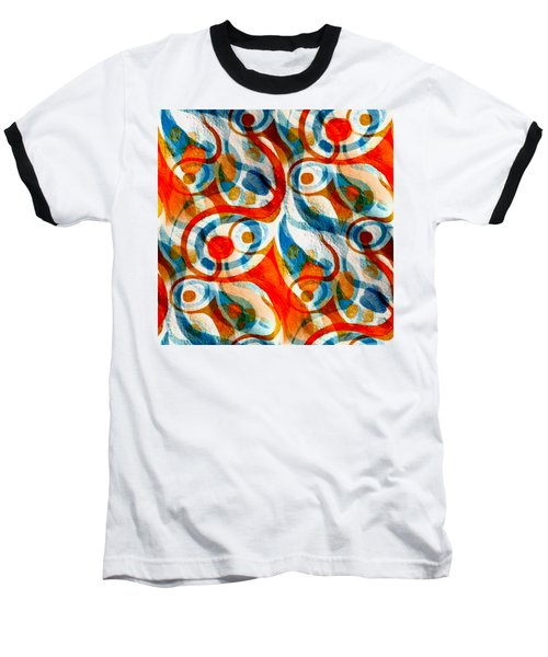 Background Choice Coffee Time Abstract Baseball T-Shirt