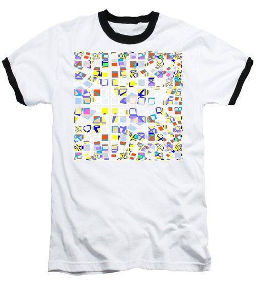 Background Choice Squares Baseball T-Shirt