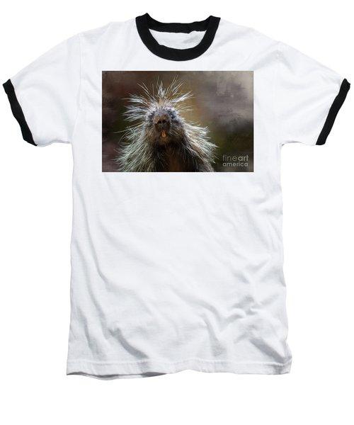 Bad Hairday Baseball T-Shirt