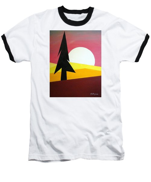 Bad Moon Rising Baseball T-Shirt by J R Seymour