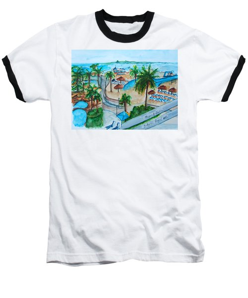 Bahamas Balcony Baseball T-Shirt