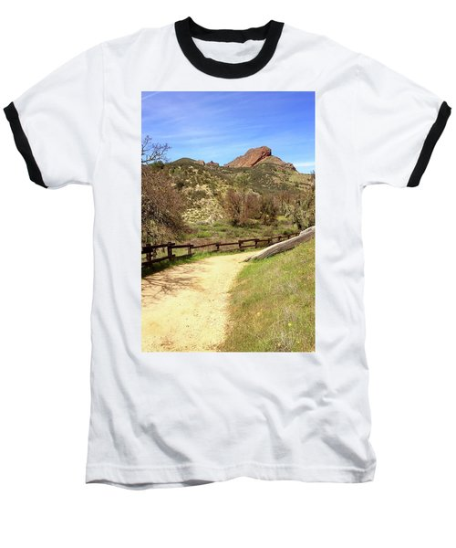 Baseball T-Shirt featuring the photograph Balconies Trail - Pinnacles National Park by Art Block Collections