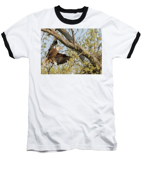 Bald Eagle Catch Of The Day  Baseball T-Shirt