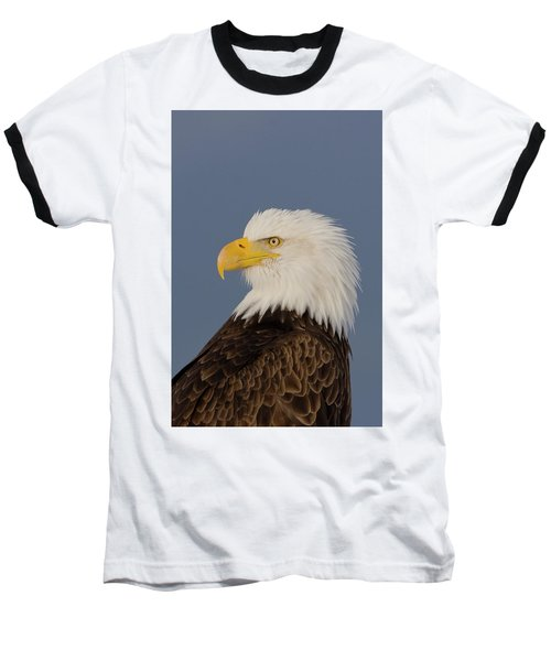 Bald Eagle Portrait Baseball T-Shirt