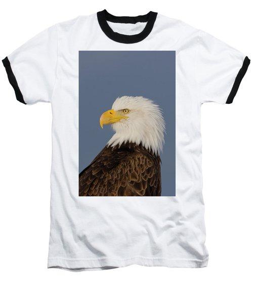 Bald Eagle Portrait Baseball T-Shirt