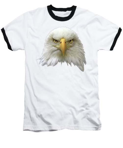 Baseball T-Shirt featuring the photograph Bald Eagle by Shane Bechler